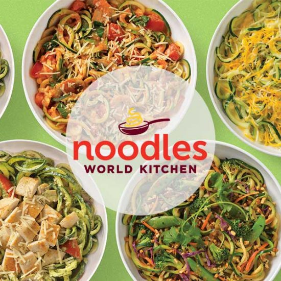 Today Only: Free Zucchini Noodles Substitution