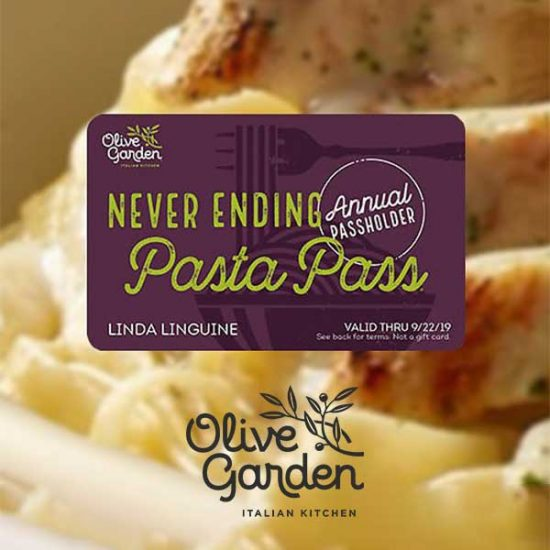 Annual & Lifetime Unlimited Pasta Passes on Sale Today