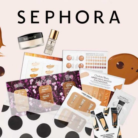 Free 9 Complexion Samples with $35 Purchase