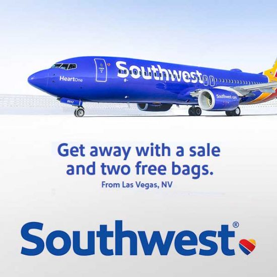 One Way Fares From Dallas, Texas, Starting at $77