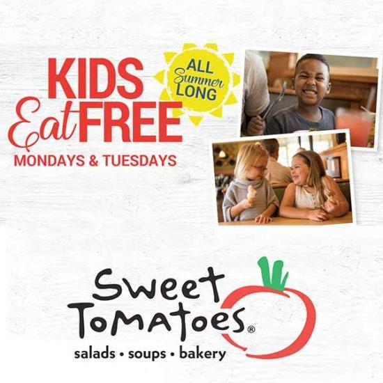 Kids Eat Free Mondays and Tuesdays