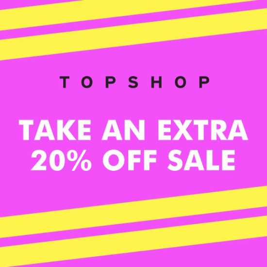 Get Extra 20% Off Sale with Code