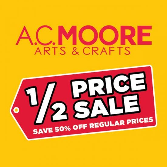 50% Off Fall Arts and Crafts Essentials