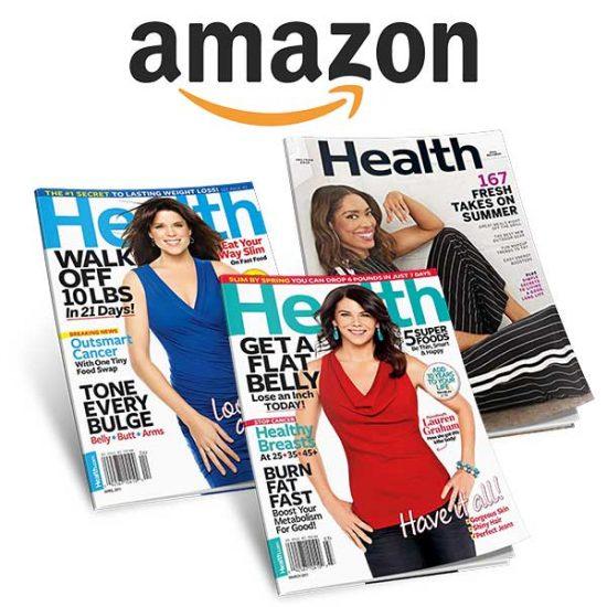 90% Off Health Magazine 1-Year Auto-Renewal