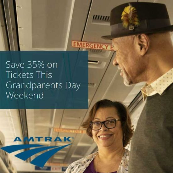 Ends 9/9! Grandparents Day: 35% Off Tickets