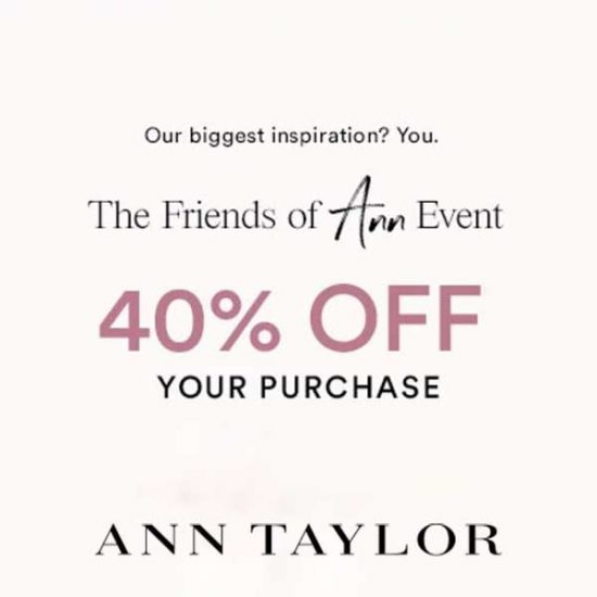 40% Off Your Purchase with Code