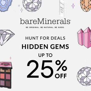 Hidden Deals Up to 25% Off