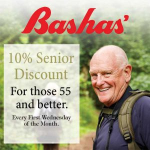 10% Off Purchase for Seniors