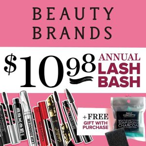 $10.98 Annual Lash Bash + Free Gift w/ Purchase