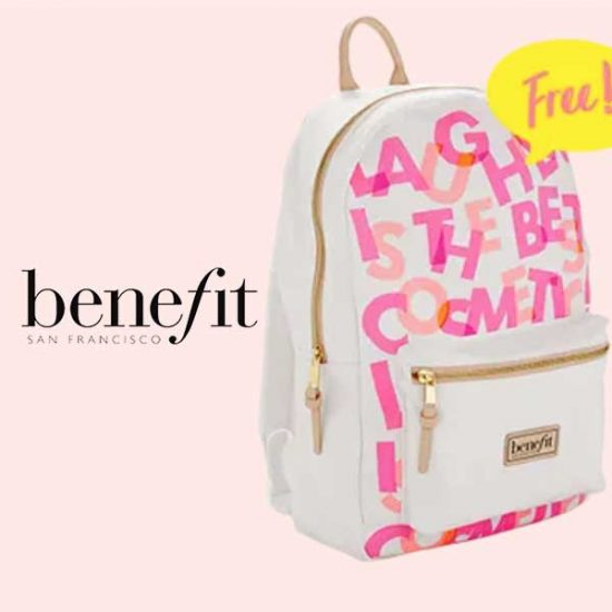 Free Backpack With Any $100 Purchase and Code