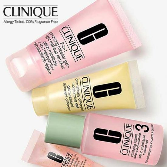 Free Clinique Post-Summer Reboot Kit w/ $45 Purchase