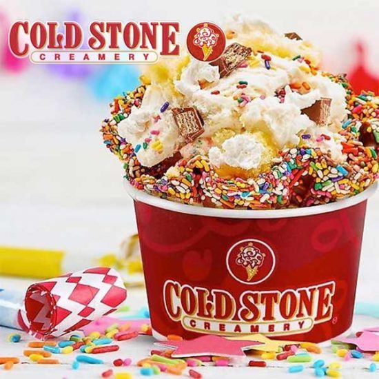 Buy 1, Get 1 Free Cold Stone Ice Cream for New Members