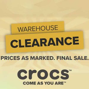 Crocs Up to 70% Off