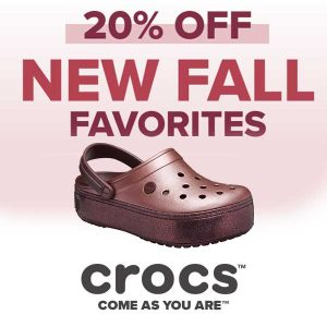20% Off New Fall Favorites