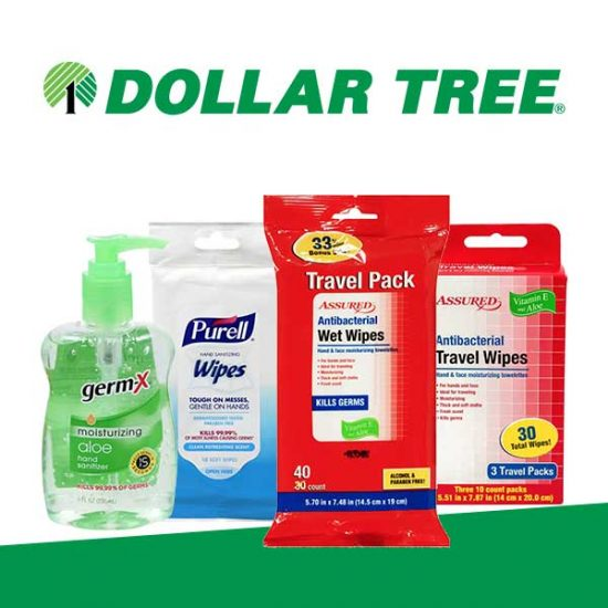 $1 Antibacterial Hygiene and Personal Care Products