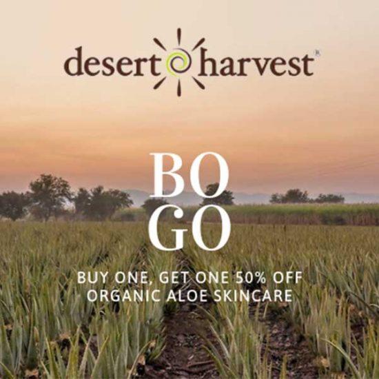 Buy 1, Get 1 50% Off Organic Aloe Skin Care