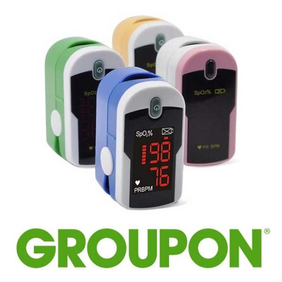 54% Off Fingertip Pulse Monitor and Oximeter