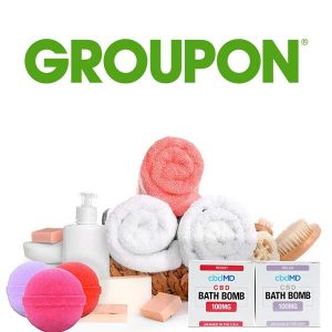 Up to 64% Off CBD Bath Bombs