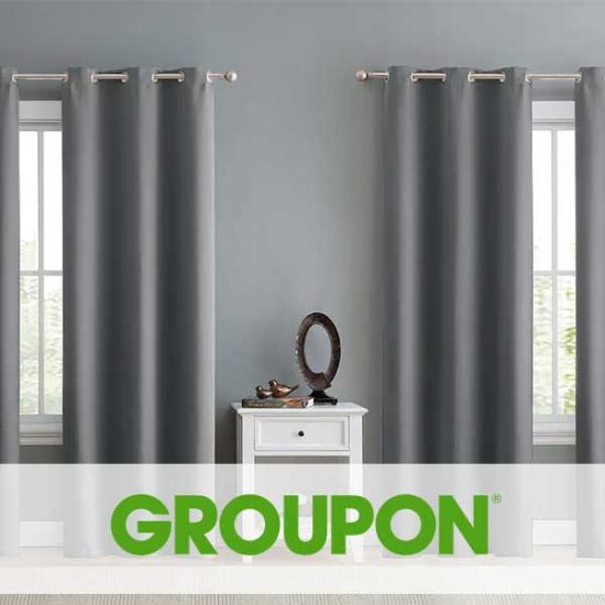 55% Off Jordan Triple Weave Blackout Window Curtain Panel