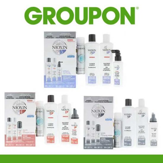 Up to 46% Off Nioxin 4-Piece Hair System Kit