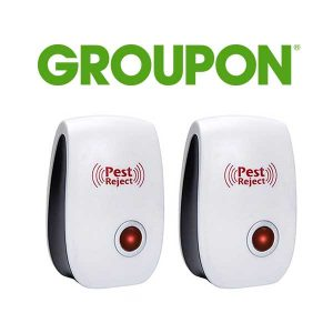 Up to 58% Off Ultrasonic Electronic Insect, Pest Repeller