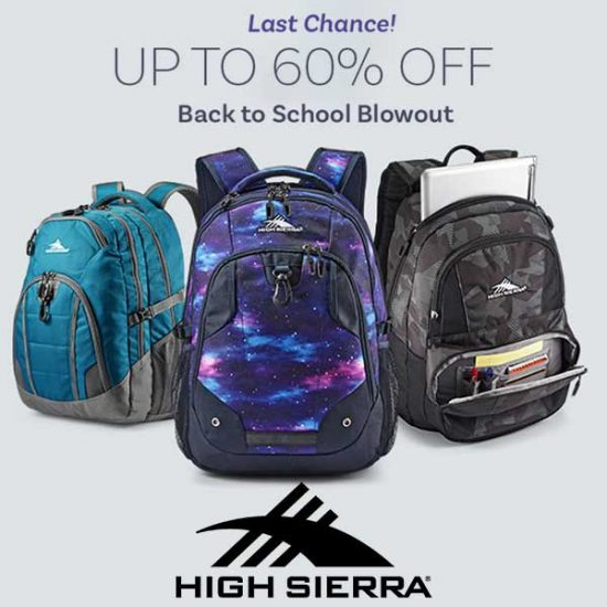 Last Chance Back-to-School Event: Up to 60% Off