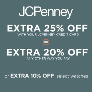 Up to Extra 25% Off Depending on How You Pay