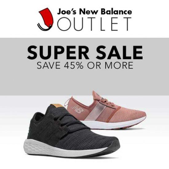 Super Sale: Save 45% Or More