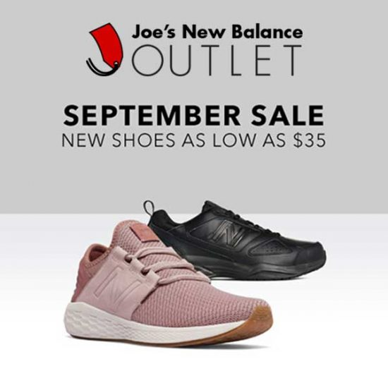 September Sale: New Shoes as Low as $35
