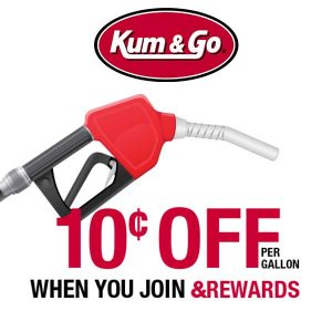 10¢ Off Per Gallon When You Join &Rewards