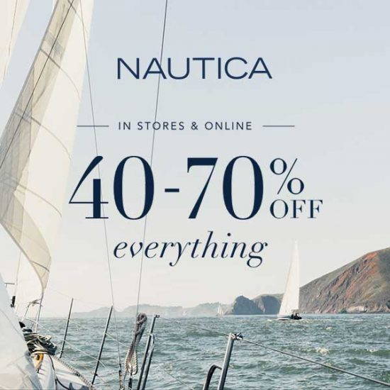 40% to 70% Off Everything