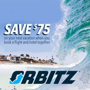 $75 Off Select Flight + Hotel Packages
