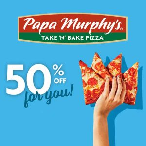 50% Off Any Pizza with Code