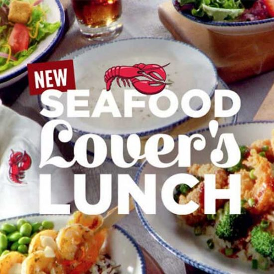 Seafood Lovers Lunch Starting at $8.99