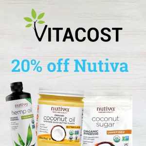 20% Off Nutiva Organic Superfoods