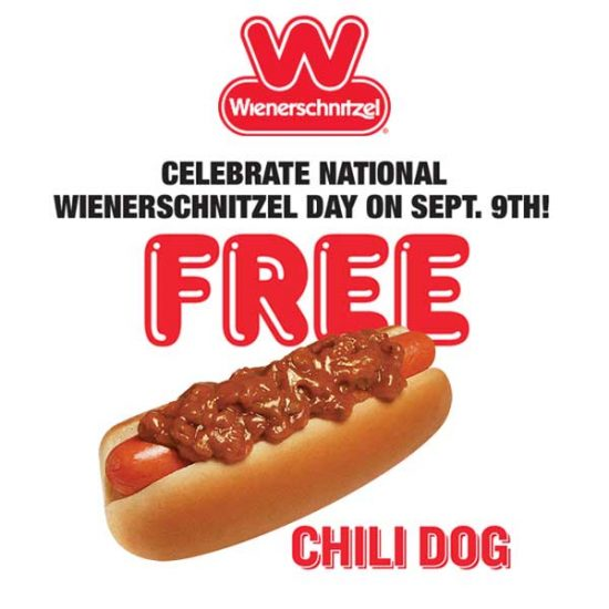 Today Only: Free Original Chili Dog w/ Any Purchase